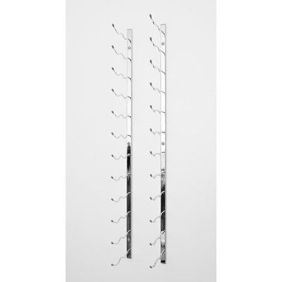 VintageView Wall Series 24 Bottle Wall Mounted Wine Rack Finish: