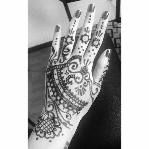 Tatuaje En Toda La Mano Joyas Tattoos