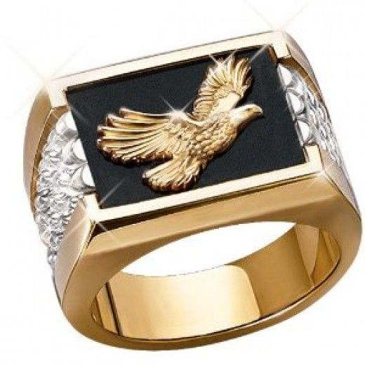 Masculine Adornments Buy Rings For Men Online Rings For Men Yellow Gold Mens Rings Eagle Ring