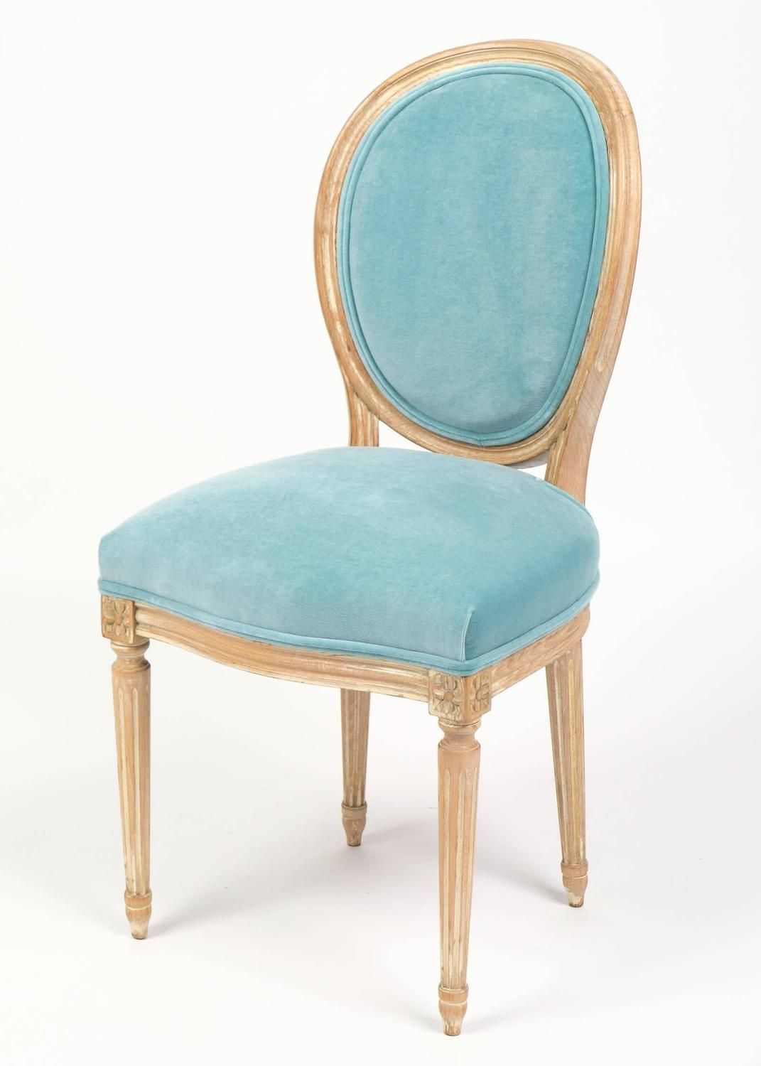Antique Louis XVI Medallion Back Dining Chairs 5