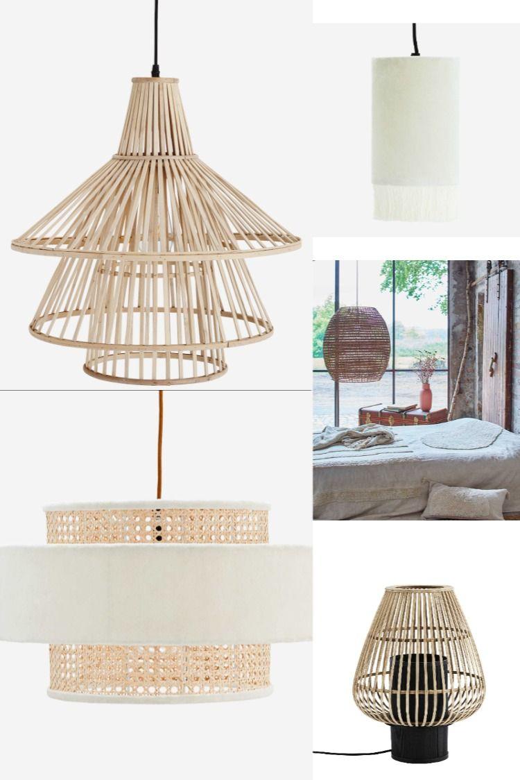 Lampe Lampenschirm Boho Skandinavisch Ibiza Style