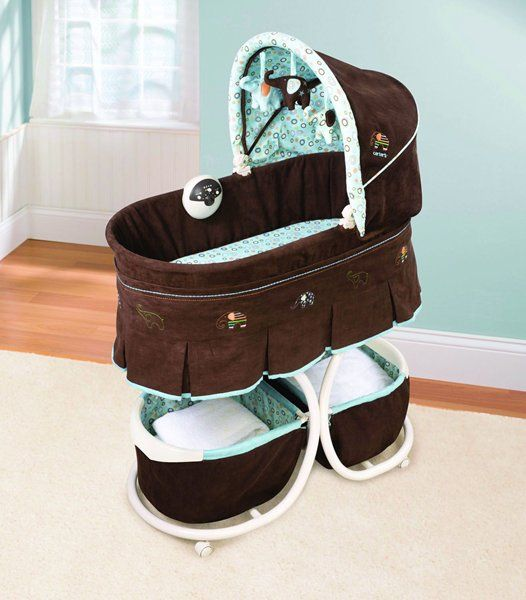 Super cute bassinet...would probably work for a boy or girl ...
