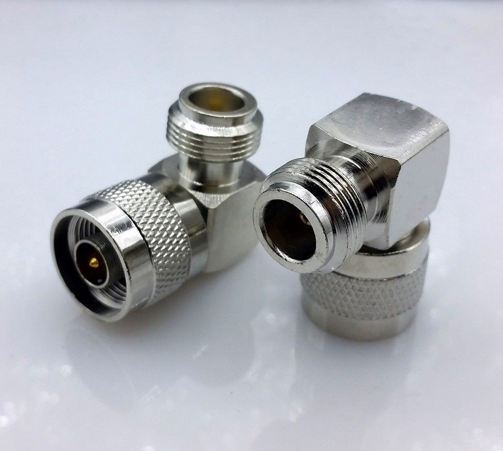 right angle N type Male to N type Female connector  N type Right Angle Degree RF Coax Adapter Connector  10pcs/lot