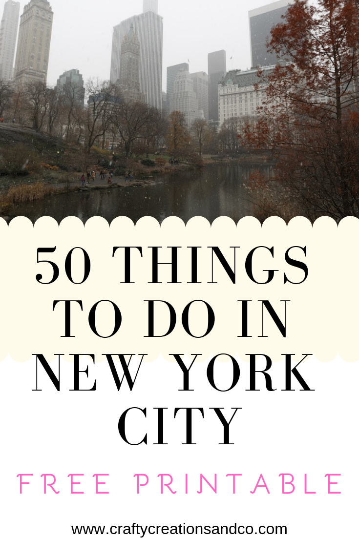 New York Bucket List 50 Things To Do In Nyc New York Attractions New York Bucket List New York Must See