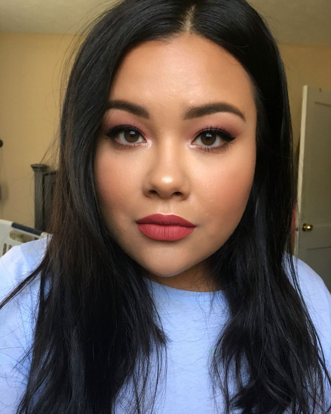 Kathryn by Anastasia Beverly Hills Eye makeup, Too faced