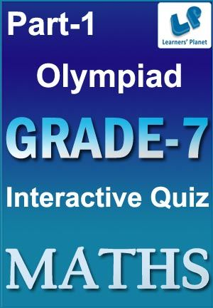 7-OLYMPIAD-MATHS-PART-1 Interactive quizzes & worksheets on Algebra ...