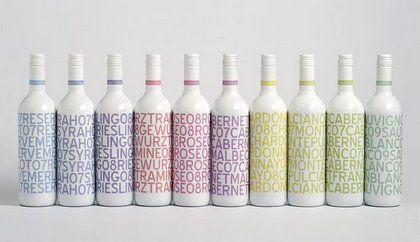 beach house wines packaging