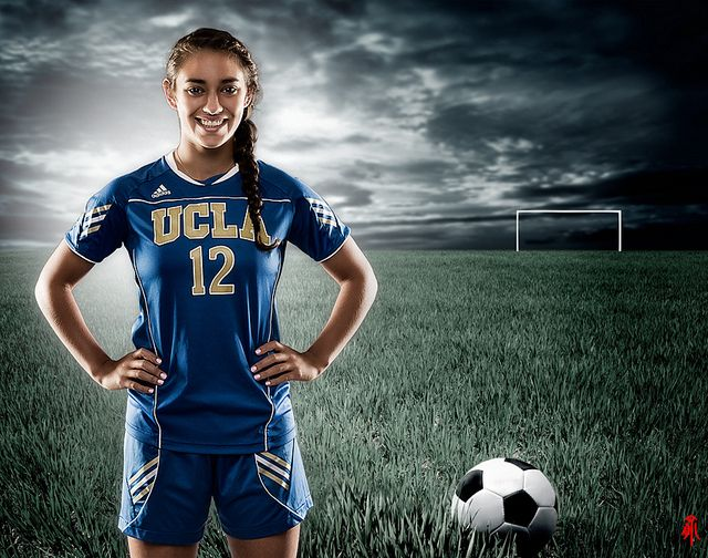 A Soccer Player Soccer Photography Soccer Poses Soccer Players