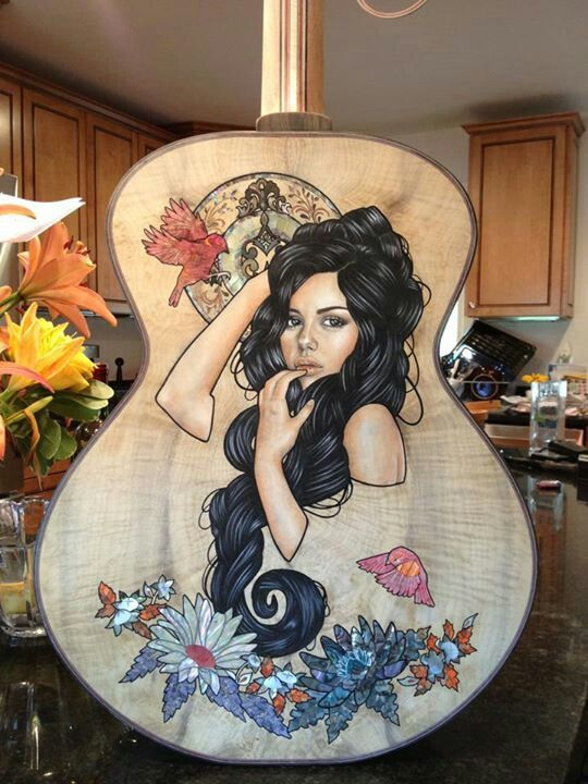 Wendy Ortiz collaboration with TL Guitars