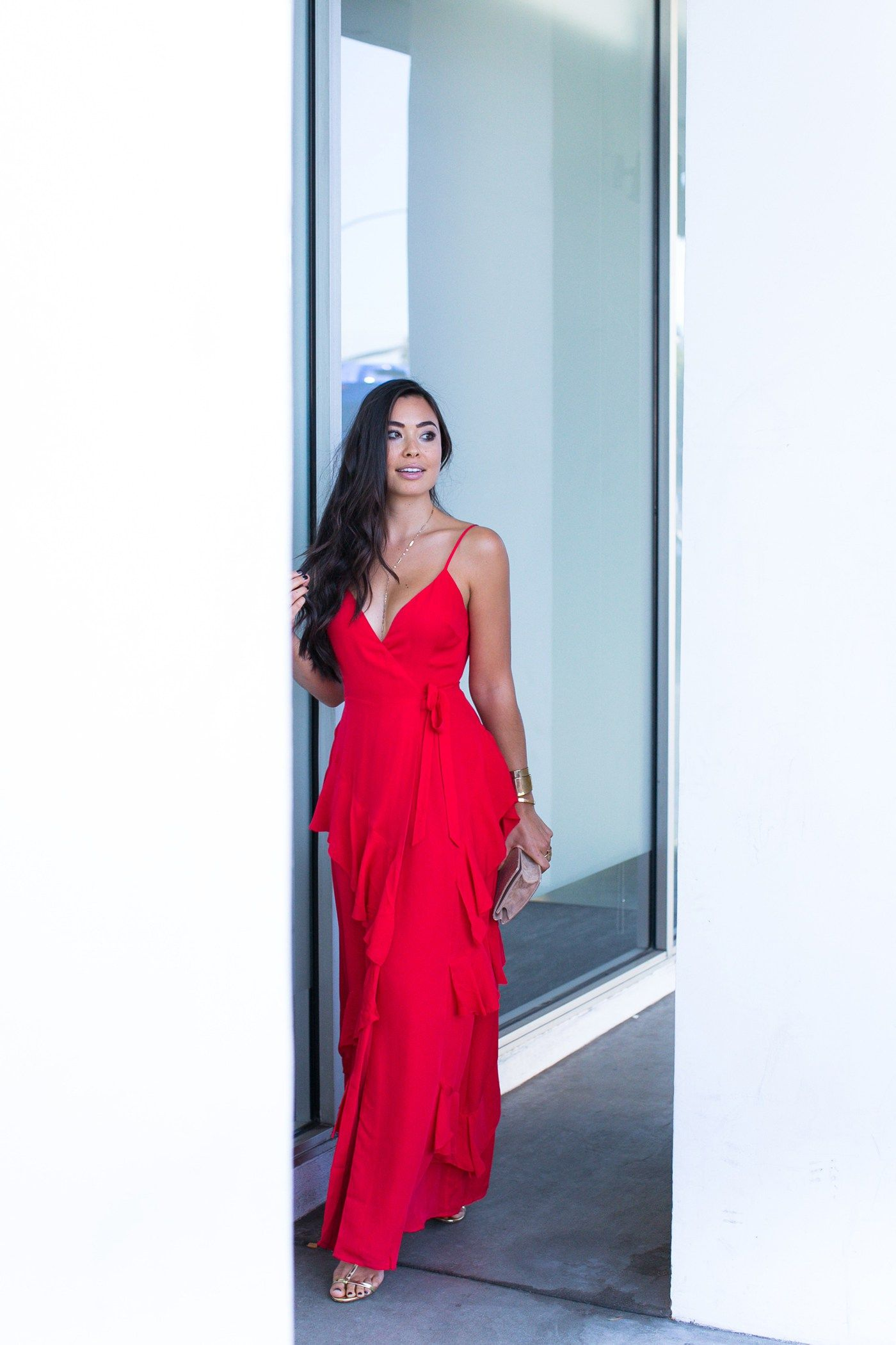 Stunning Red Dress For Wedding Guests Red Wedding Dresses