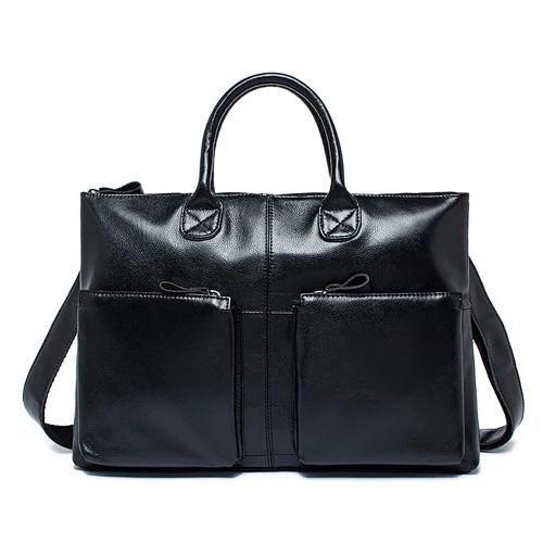 Bag for men Supple and Elegant Tote Genuine Leather Business Shoulder Bag for Men        Geschmeidige und elegante Business-Umhängetasche aus echtem Leder für Herren - Leather Skin Shop