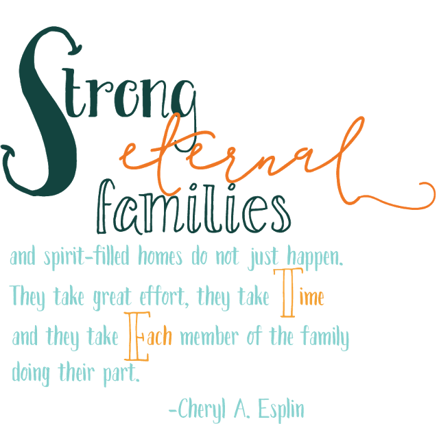 Mormon Mom Planners - Monthly Planner/Weekly Planner: Strong Eternal