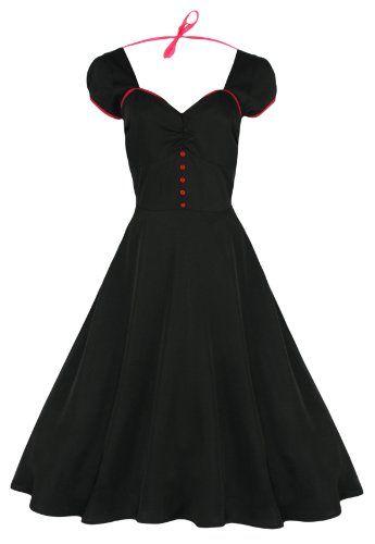 Lindy Bop Damen Kleid 'Bella', Vintage, 1950er Jahre, Rockabilly Lindy Bop,http://www.amazon.de/dp/B00CWZACVI/ref=cm_sw_r_pi_dp_AA5Htb0K2797EJ7D