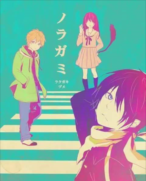 noragami, yato, and hiyori image