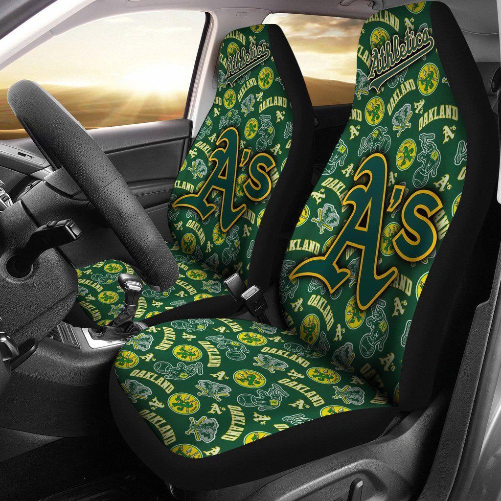 Oakland Athletics Baseball Team Car Seat Covers Car Seat Cover Sets Car Seats Fit Car