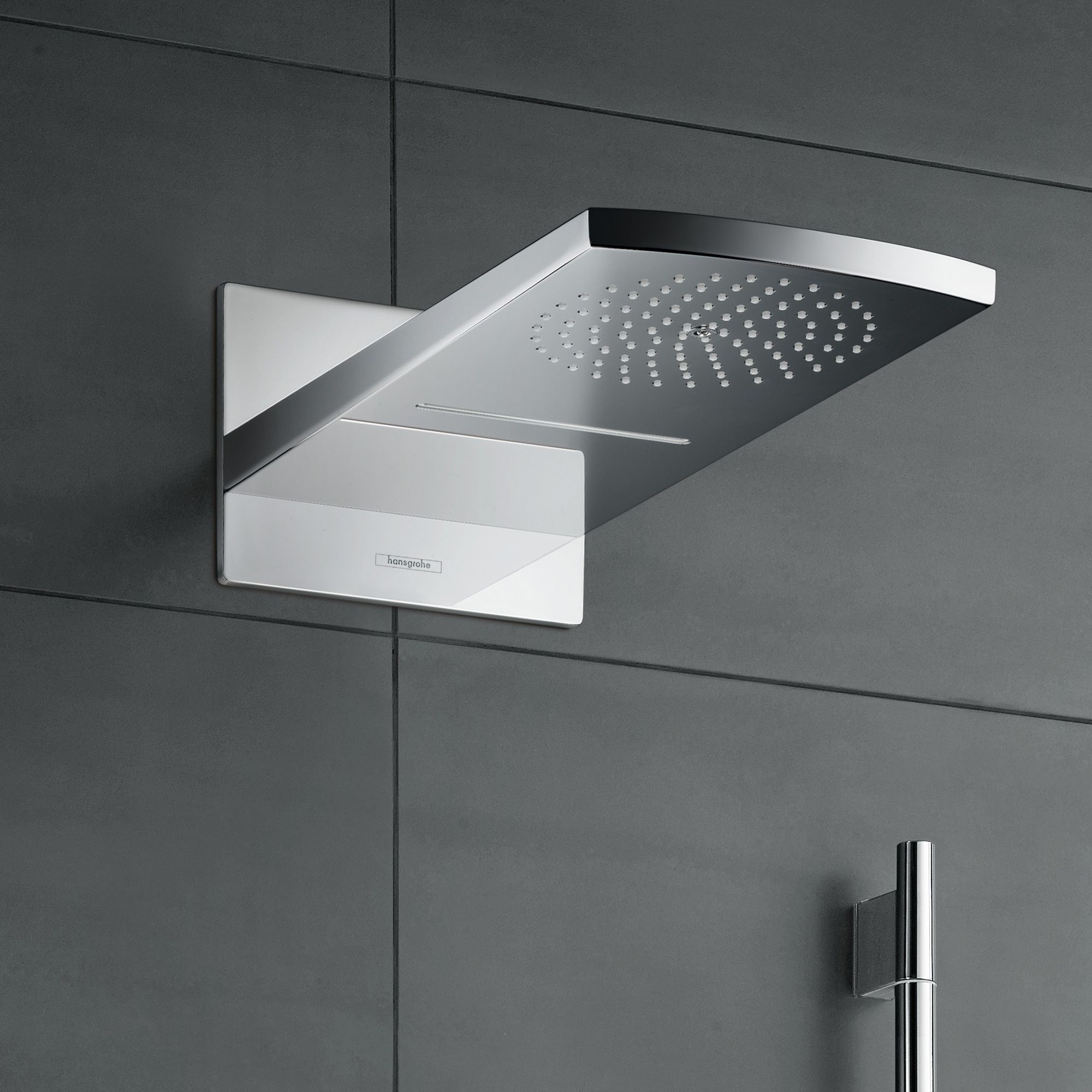 hansgrohe raindance rainfall 180 air 2jet kopfbrause chrom bad pinterest. Black Bedroom Furniture Sets. Home Design Ideas