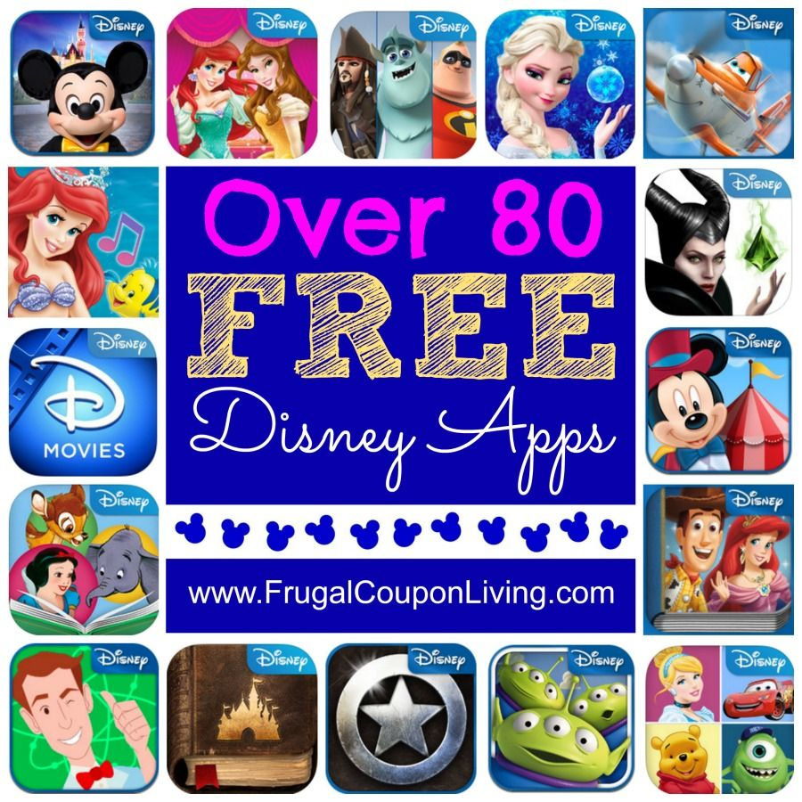 80+ FREE Disney Apps for your Tablet or Smart Phone