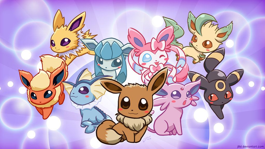 eeveelutions chibi wallpaper - photo #3