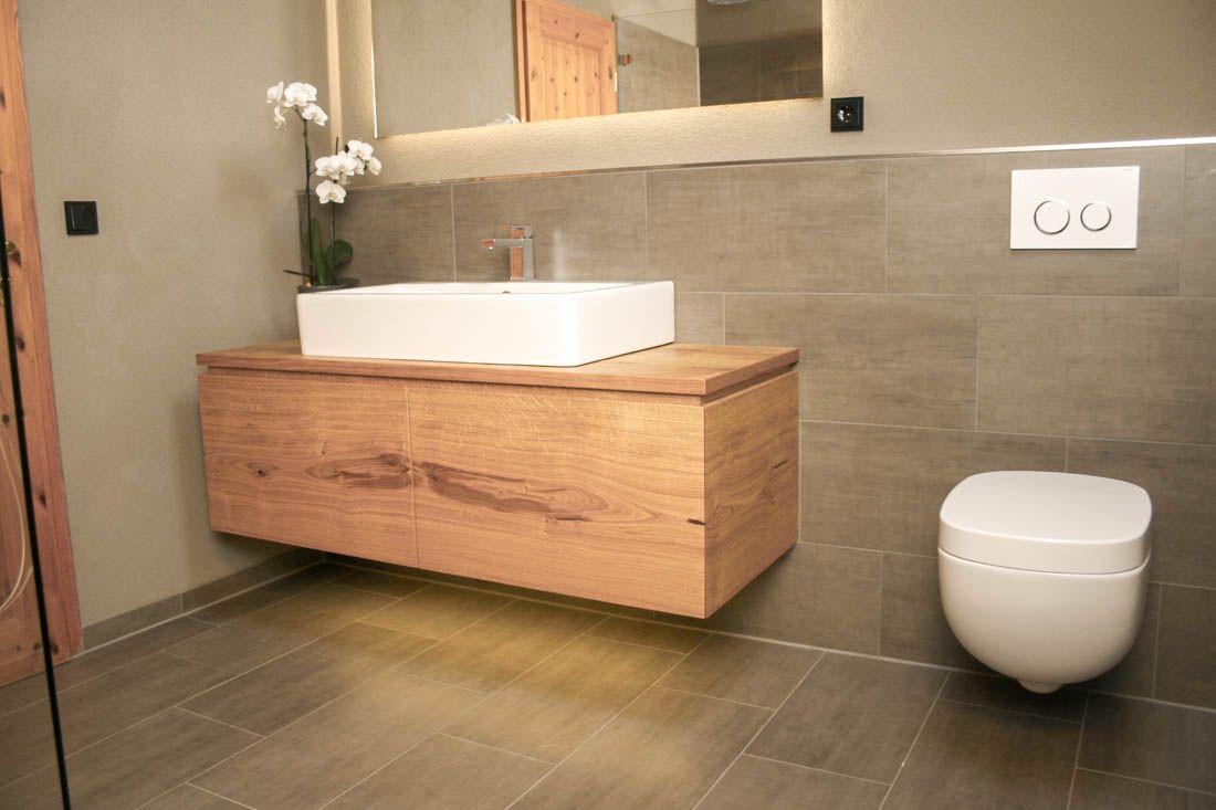 Waschtisch Eiche Astig Badezimmer Unterschrank Waschtisch Badezimmer Holz