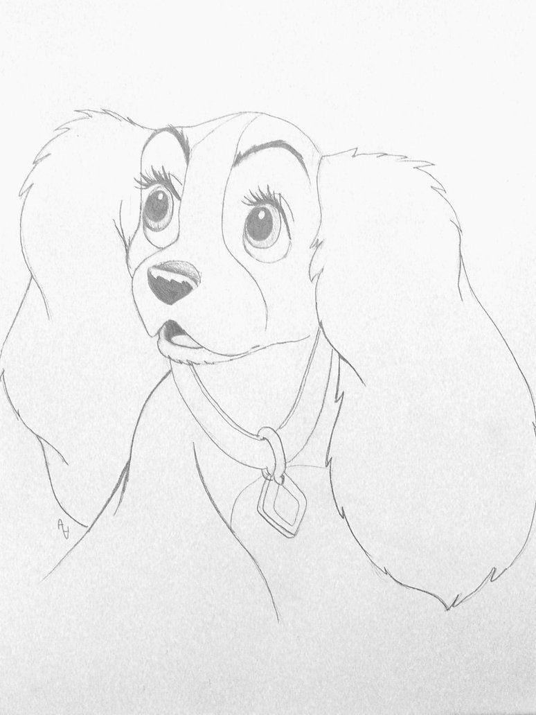 Lady In Shock Disney Drawings Sketches Disney Drawings Disney Art Drawings