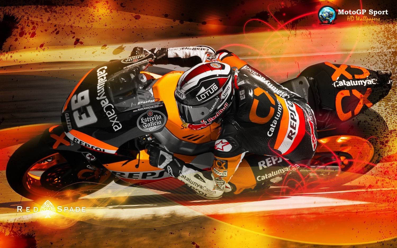 Marc Marquez Motogp Wallpaper Background Pembalap
