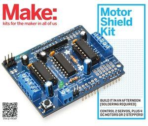 Motor Shield For Arduino Kit Arduino Pinterest