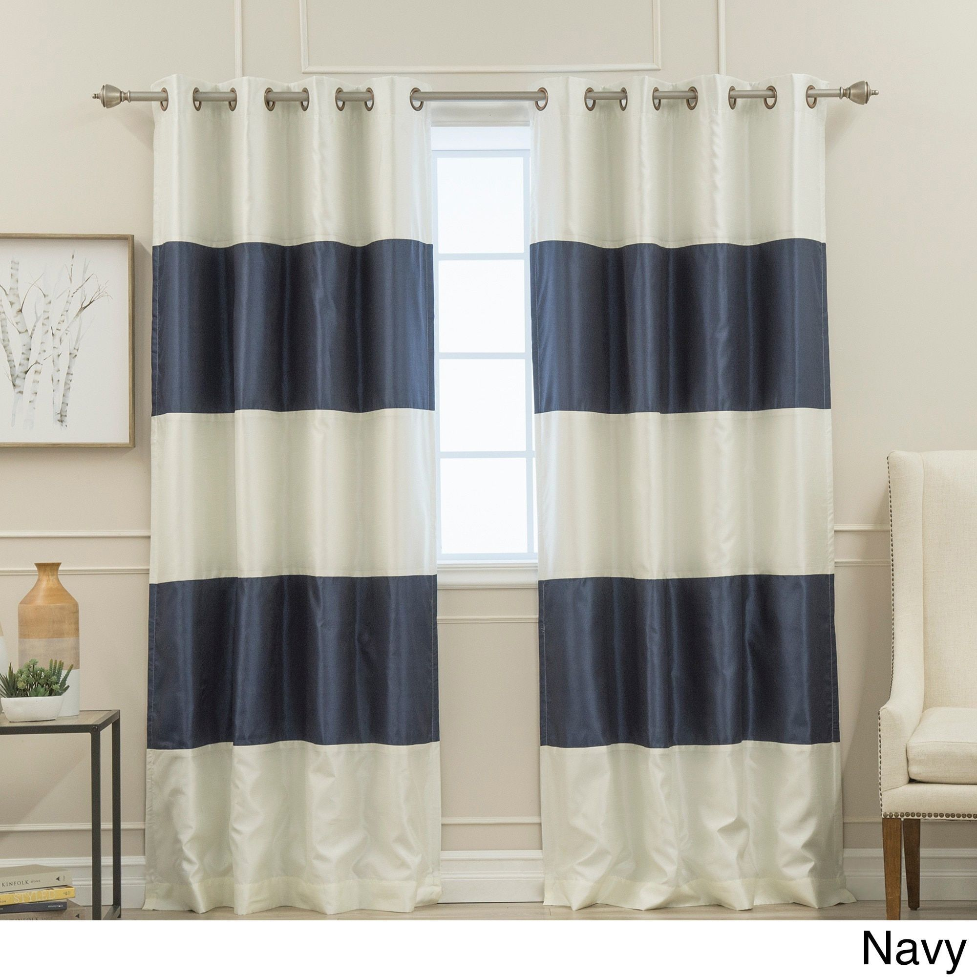 org striped panels avarii design grosgrain blackout home us ideas curtain best curtains nautica pocket rod instacurtainss thermal ribbon