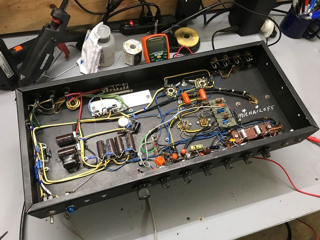 Posted a couple months ago about a Michailoff amp, finally