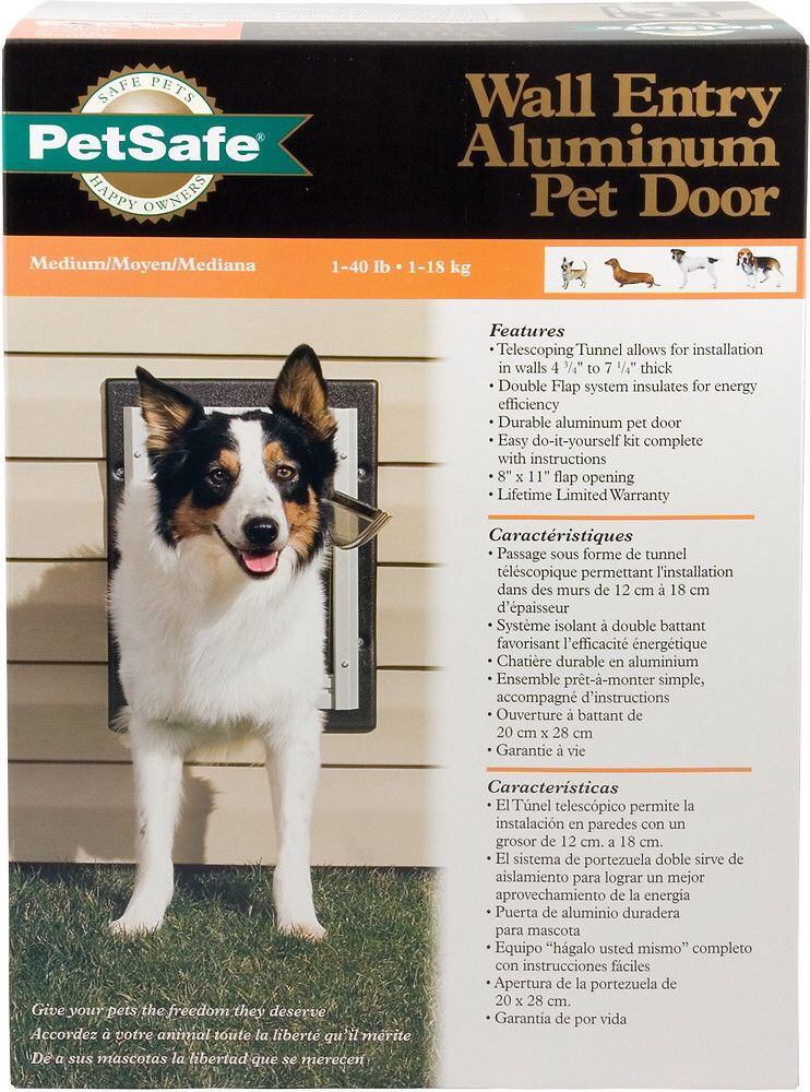 Bought This Dog Door At Menards And Dad And Ken Installed It Today