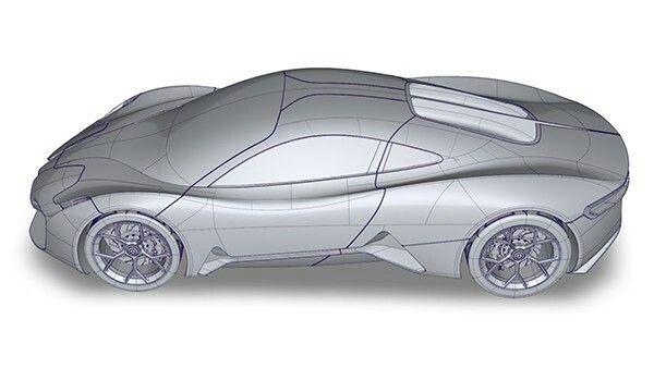Jaguar 3d Alias Model Concept Cars Car Model Car Design