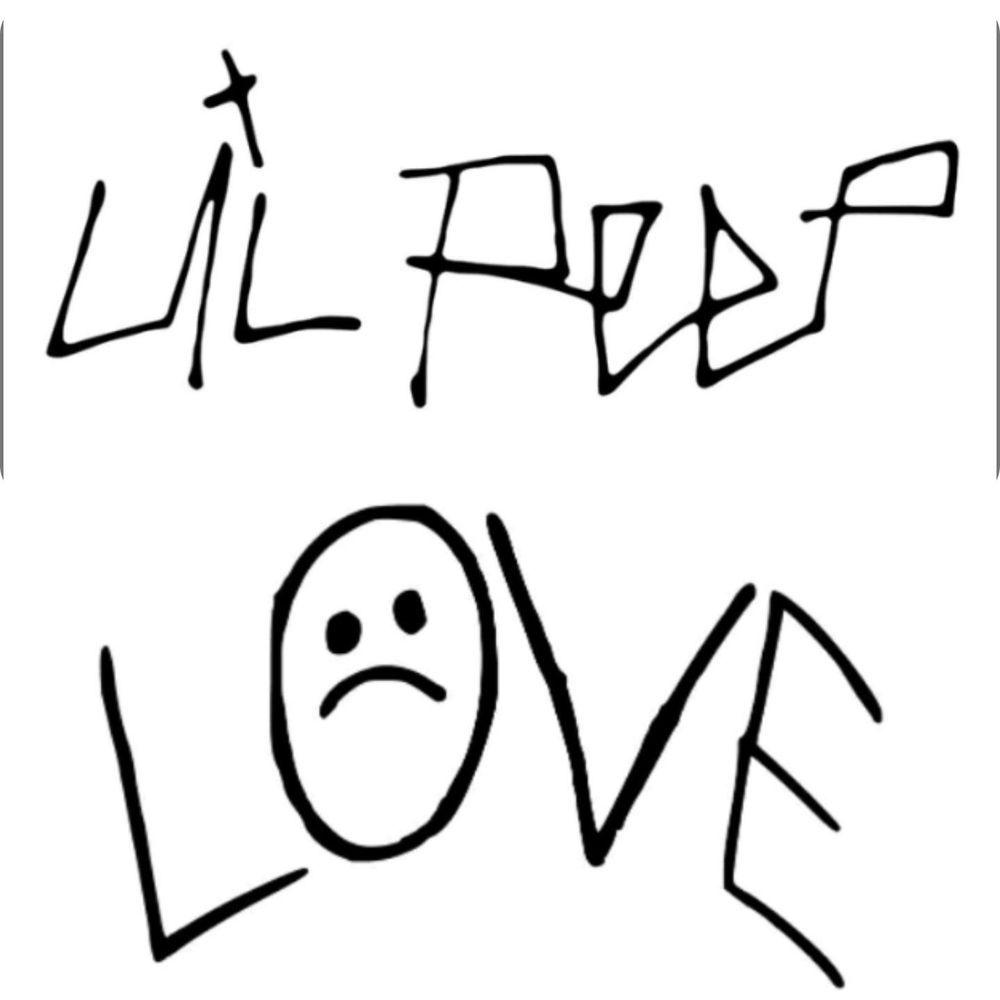 Lil Peep Sticker Decal Vinyl Official Sticker Pack Gbc Lil Peep Love Rip Lil Peep Tattoos Tattoo Ideas Tumblr Lil Peep Live Forever