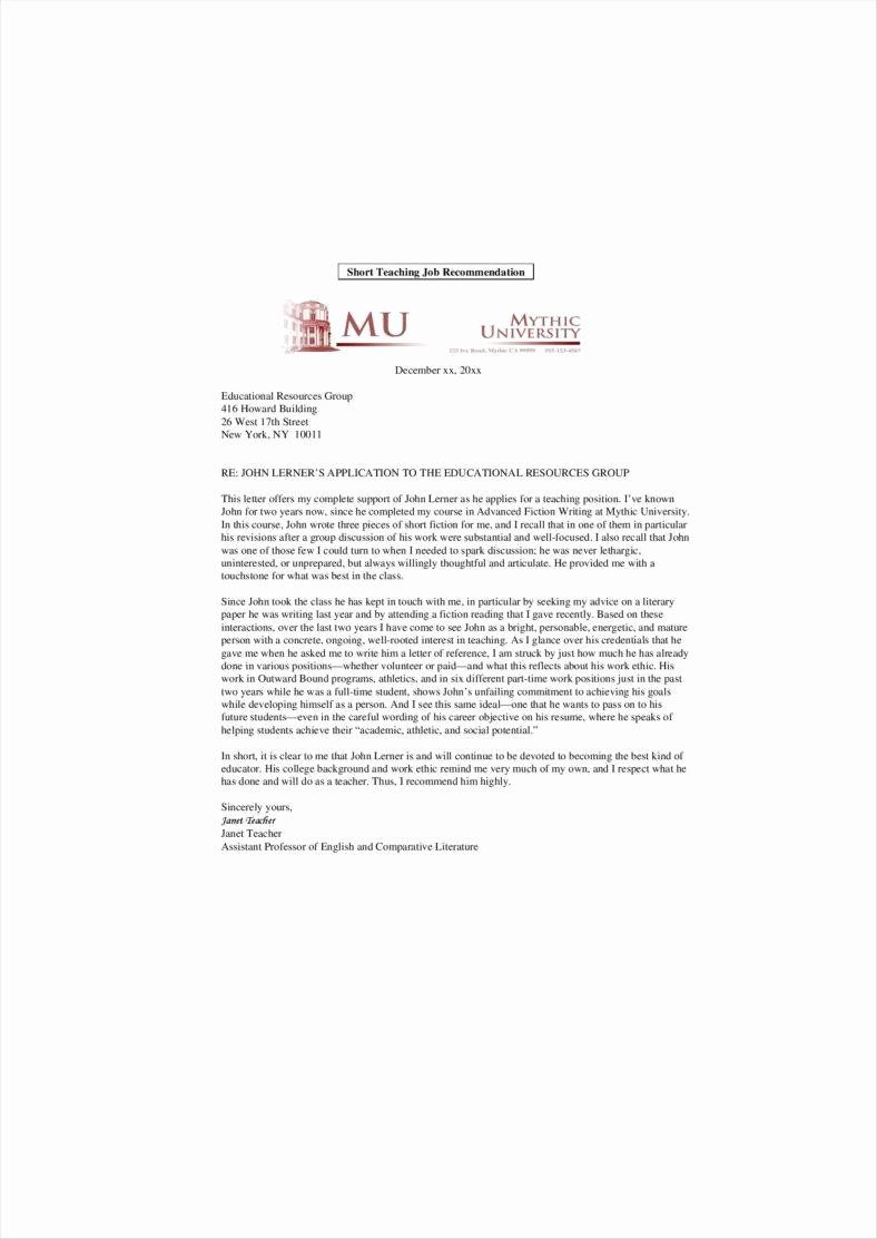 30 Letter for Professor Promotion in 2020
