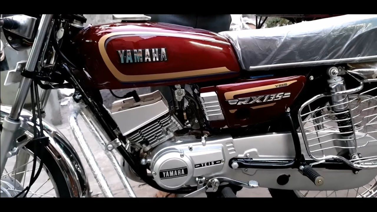 Yamaha Rx 135 Wine Red And Gold Model Modification Yamaha Rx 135 Yamaha Yamaha Rx100