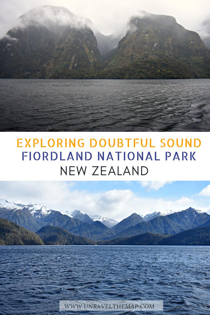 Doubtful Sound Day Cruise Fiordland National Park New Zealand New Zealand Travel Oceania Travel Australia Travel