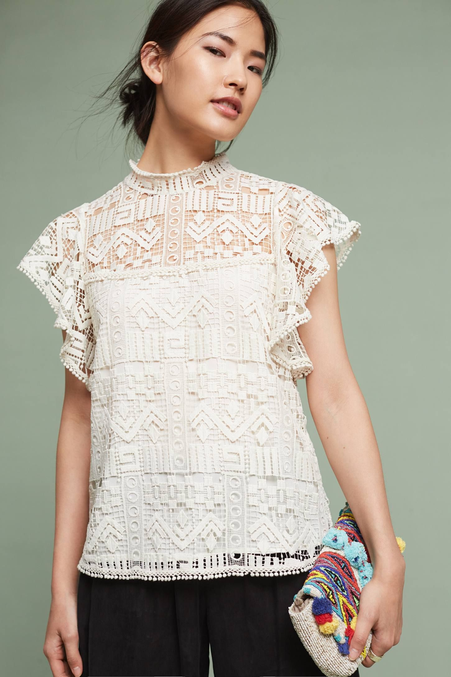 Valerie lace top pinterest anthropologie clothes and spring summer