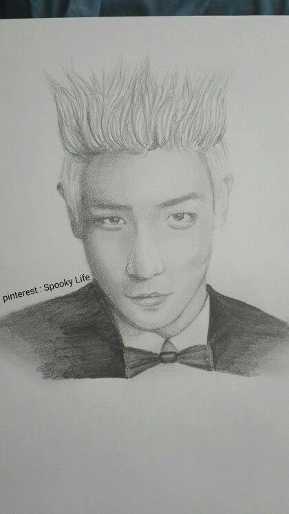 My drawing for T.O.P @Spooky Life