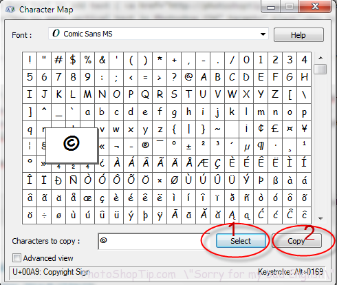 Photoshop How To Insert A Special Symbol In The Text Tool Special