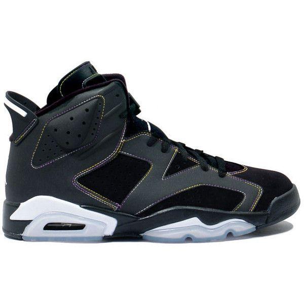 Discount Authentic 384665-002 Womens Nike Air Jordan 6 Shoes Gs Lakers Black/Varsity Purple-White-Varsity Maize