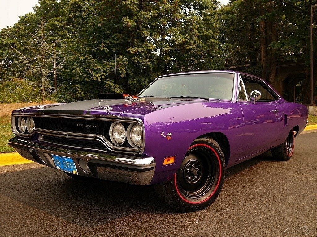 70 Plymouth Roadrunner 440 Sixpack Road Runner Pony Car Muscle Cars
