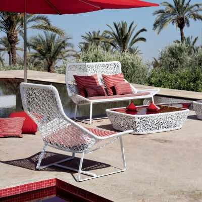 Maia Outdoor Lounge Chair Aluminium Outdoor Furniture Aluminum Patio Furniture Modern Patio Furniture