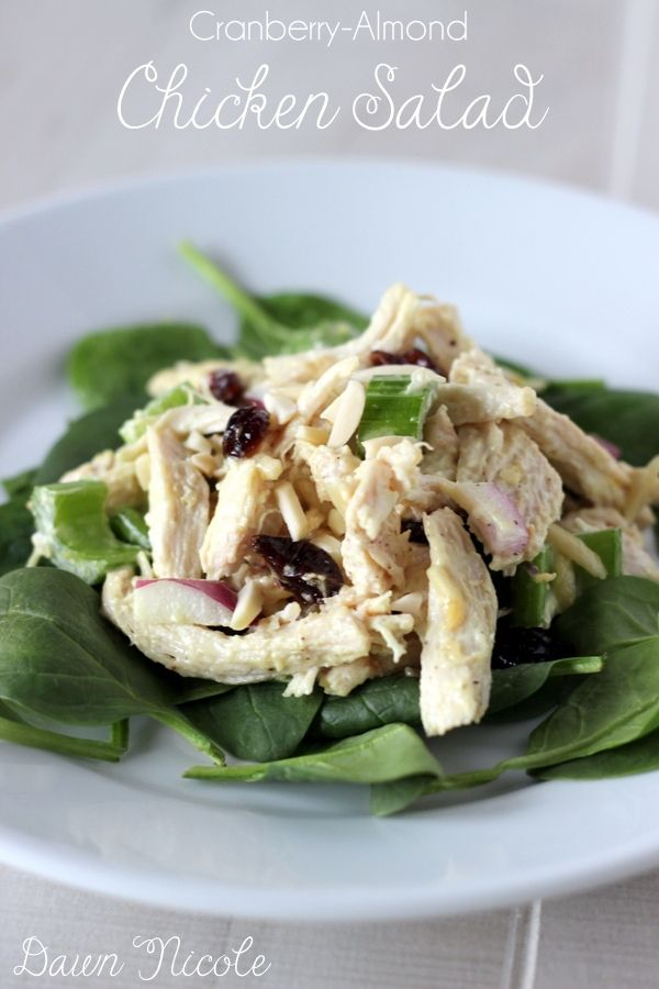 Delicious Cranberry Almond Chicken Salad Thats Paleo And Whole30