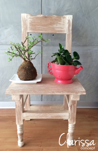 Linda idea de Clarissa Concept (muebles vintage Lima-Perú)