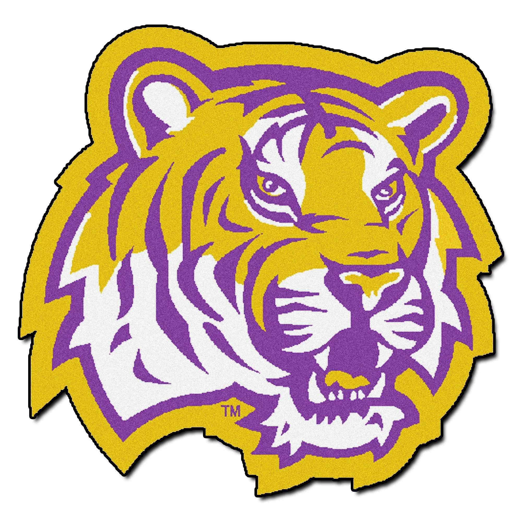 Ncaa Louisiana State University Mascot 40 In X 30 In Non