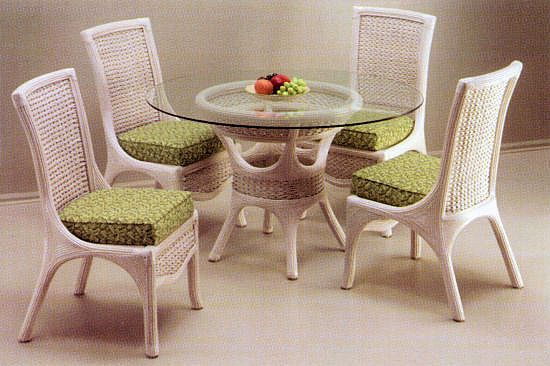Rattan And Wicker Dining And Kitchen Sets Wicker Dining Tables Dining Room Furniture Sets Sunroom Furniture
