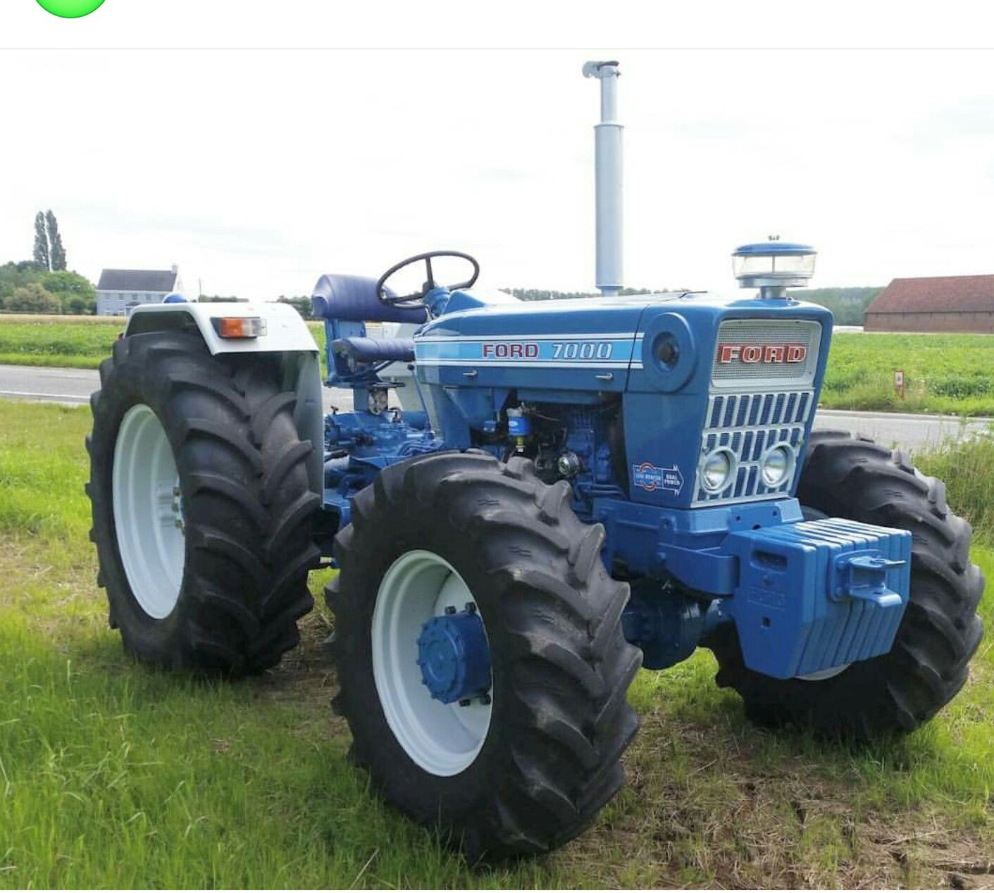 Ford 7000 Tractor : Ford and new holland tractors pinterest