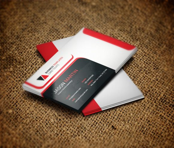 Office business card template by business templates on creative office business card template by business templates on creative market cheaphphosting Image collections
