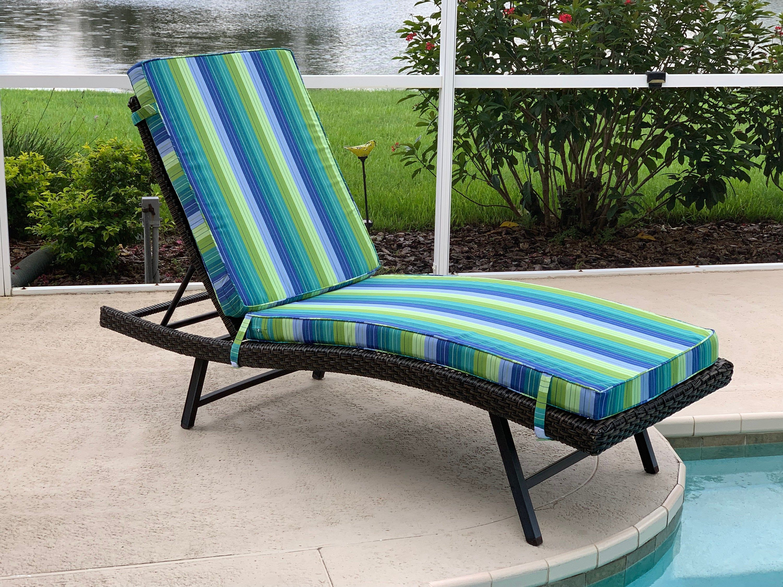 Custom Outdoor Cushions in a Variety of Sunbrella Fabrics