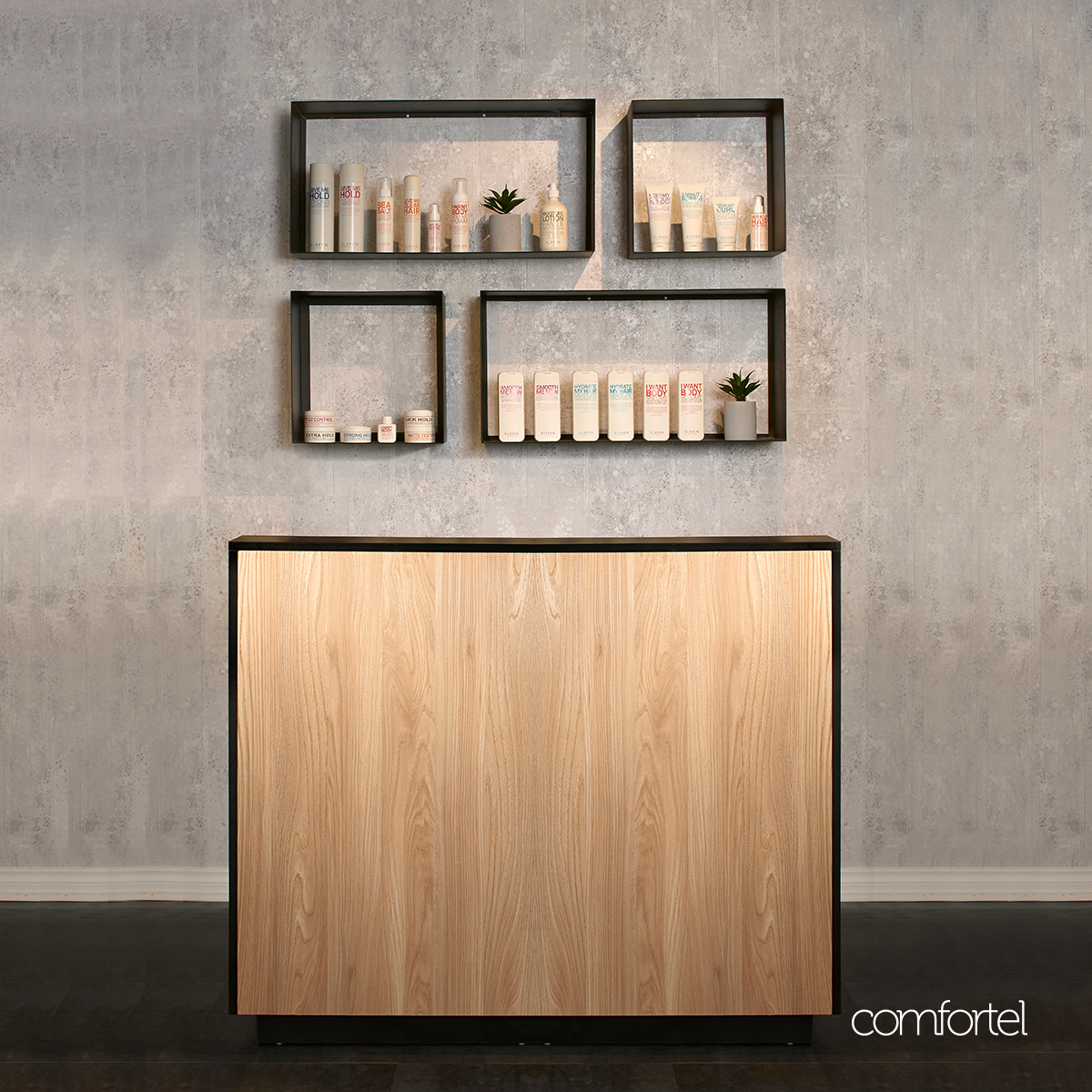 Alister Reception Desk For Australia Nz Salon Professionals From Comfortel Order Online Or Directly With One Of Our Showrooms Today