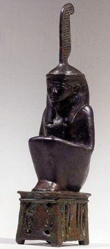 Maat Egyptian Goddess statue