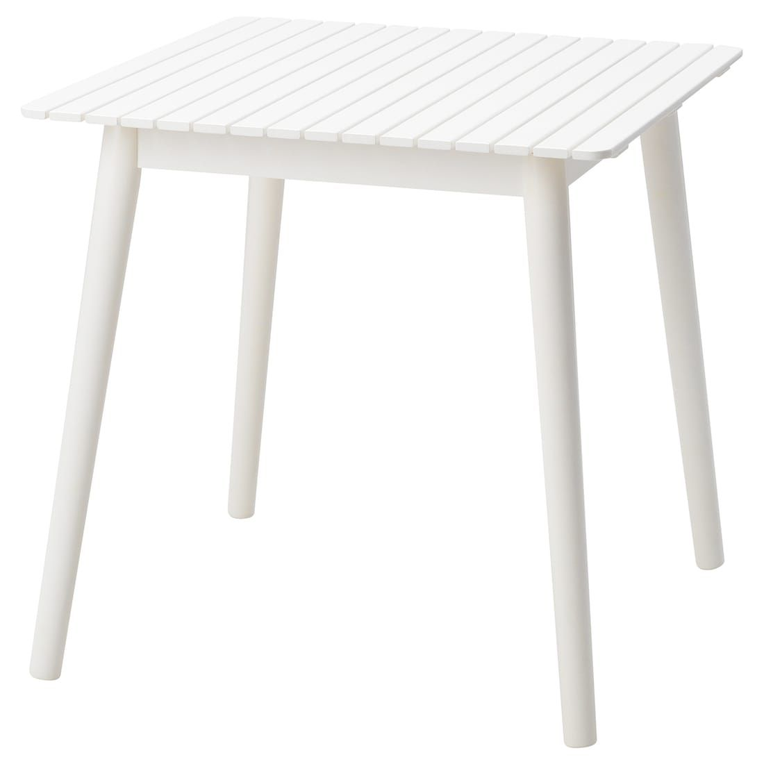Hattholmen Tisch Aussen Eukalyptus Weiss Ikea Deutschland